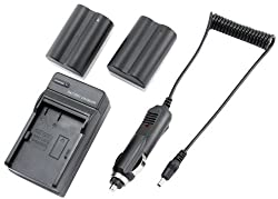 STK's 2 Pack 2200 mAH BP-511 BP-511A Camcorder Battery Pack and CG-580 Charger for Canon Optura 20, Xi, 10, PI, 200MC, ZR 10, ZR 60, ZR 80, ZR 85, ZR 20, ZR 40, ZR 45, ZR 25mc, ZR 45mc, ZR 50, ZR 65mc, ZR 70mc, MV300, MV500, MV600i, MV630i, MV700, MV700i,