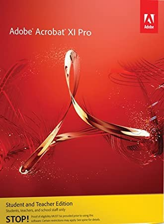 Adobe Acrobat XI Professional Version, Student and Teacher Edition (Mac)