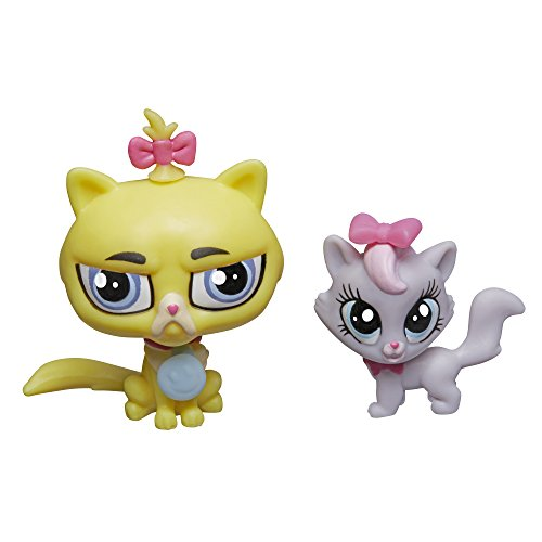 Littlest Pet Shop Pet Pawsabilities Gunther Moody & Getrude Catterson - 1