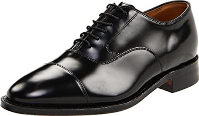 Johnston & Murphy Men's Melton Oxford,Black,6 D
