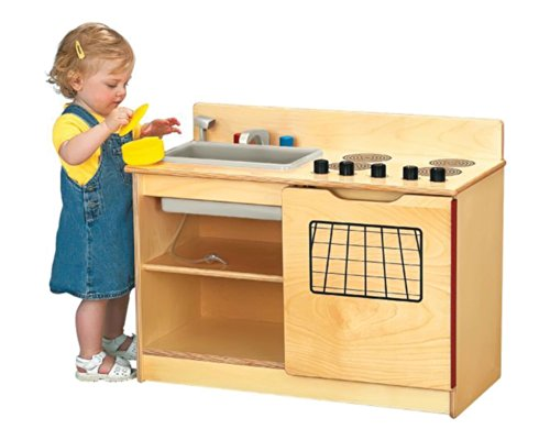 Jonti-Craft 0672Jc 2-In-1 Kinder-Kitchen