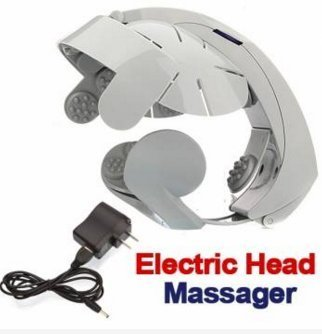 Electric Head Massager Brain Massage Relax Acupuncture Points by Lovestore2555