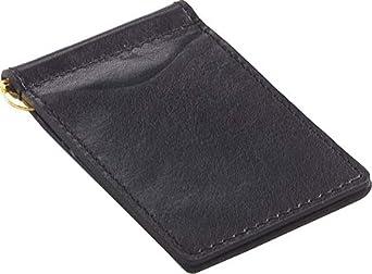 Glazed Leather Money Clip Color: Glazed Black