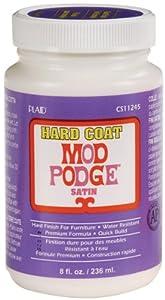 Mod Podge CS11245 8-Ounce Glue, Hard Coat