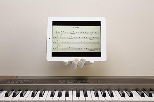 """AREAWARE - Hand Hook """"Dock iPad - Universal"""" white by Harry Allen / Hand-Wandhaken weiß"""