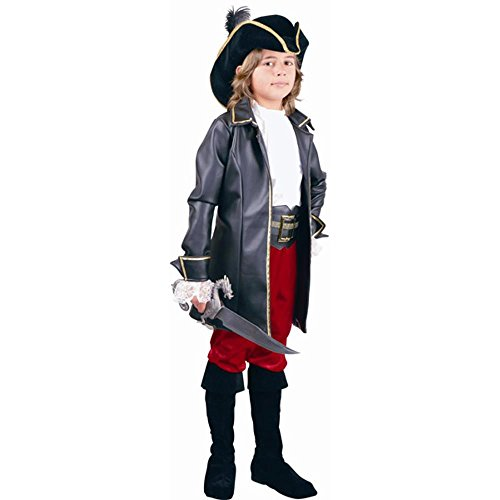 Kid's Captain Morgan Pirate Costume (Size:X-small 4-6)