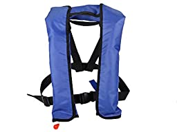 TMS Automatic/Manuel Auto Inflate Inflatable PFD Survival Aid Sailing Life Jacket Vest