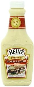 Heinz Premium Horseradish Sauce, 12.5 Ounce Bottles (Pack of 6)