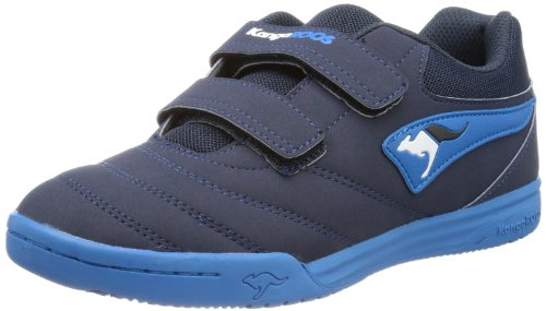 KangaROOS Boys Artus Velcro Velcro Shoes Blue Blau (dark navy/sky blue/white) Size: 7 (40 EU)