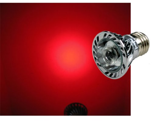 Led Red 630Nm Grow Light 1W - Standard Base 120V