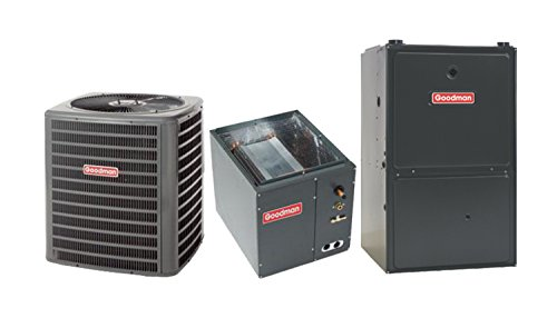 Goodman 4 Ton 13 SEER AC with 100 000 BTU 92% AFUE Upflow Gas Furnace GMSS921004CNGSX130481 (100 000 Btu Gas Furnace Unit compare prices)