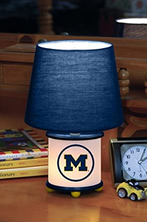 Buy Michigan Wolverines Memory Company Team Dual Lit Accent Lamp NCAA College Athletics Fan Shop Sports... by Memory Company