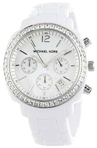 Michael Kors Women's MK5079 White Runway Watch