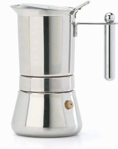 Italian Coffee Maker Reviews : Cheap bialetti espresso maker: Vev Vigano 8310 Vespress Inox 12-cup Coffee Pot - Made in Italy