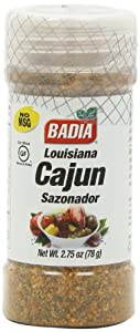 Badia Seasoning Louisiana Cajun (Sazonador), 2.75-Ounce Containers (Pack of 12)