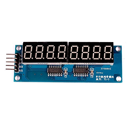 Solu 74HC595 8Bit 8-Digit LED Display Module Red Digital Tube 0.36