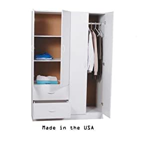Ready to assemble 48 inch 4 door wardrobe for Ready to assemble bedroom furniture