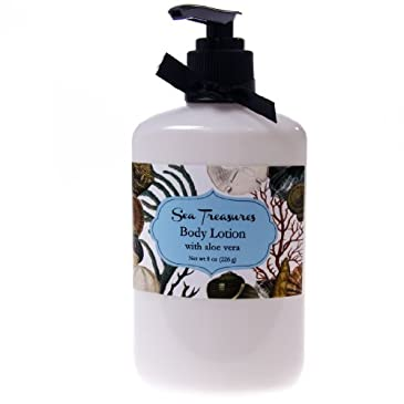 Sea Treasures Scented Body Lotion