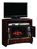 Hot Sale Media Console Electric Fireplace Espresso Digital Heater