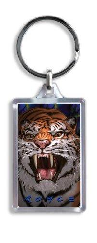 Artgame - Wild Tiger - 3D Keyrings - 1