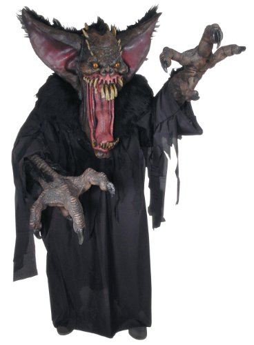 Rubie's Costume Creature Reaches Gruesome Bat Creature Costume, Black, Standard