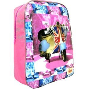 Retro London: Pink British Scooter Backpack