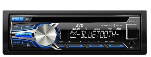 JVC KD-R852BTE Sintolettore CD, Bluetooth Wireless, Nero