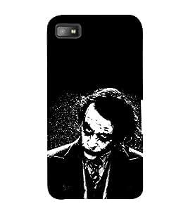 EPICCASE why so serious Mobile Back Case Cover For BlackBerry Z10 (Designer Case)