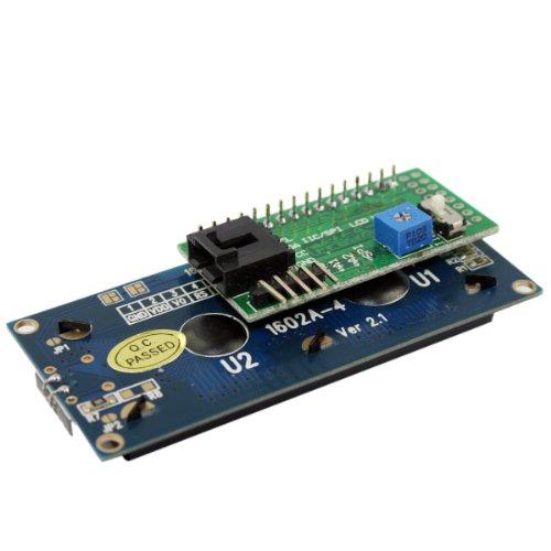 Generic Iic / I2C / Twi Spi Serial Lcd 1602 Module For Arduino Diy