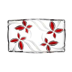 Mikasa angelina ruby canape tray red for Canape trays uk