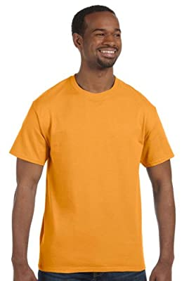 Hanes - 6 oz. Tagless T-Shirt >> 3XL,GOLD