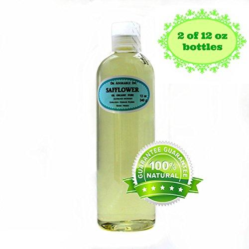 Safflower OIL High Oleic Organic 100% Pure 24 Oz