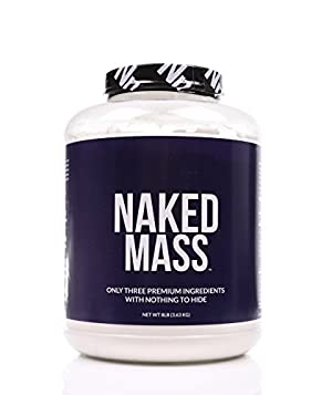 NAKED MASS - All Natural Weight Gainer Protein Powder