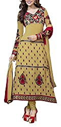 The Magical Thread Women's Georgette Unstitched Dress Material (MR-DN069_Multicolor_Free Size)