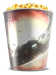 Star Trek: Beyond Movie Theater Exclusive 130 oz Metal Popcorn Tin-Red