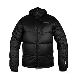 Marmot Men\'s Guides Down Hooded Jacket - Black