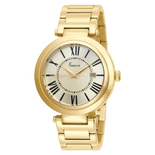 Freelook Unisex HA1134GM-3A Cortina Roman Numeral Gold Watch