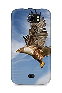 Amez designer printed 3d premium high quality back case cover for Micromax Canvas 2 A110 (Eagle)