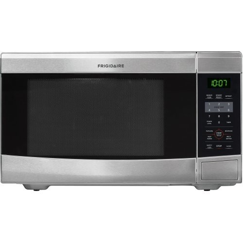 Frigidaire FFCM1134L 1.1 Cubic Foot Countertop Microwave Oven with Easy-Set Start and Ready-Select Co, Stainless Steel