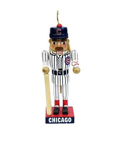 Kurt Adler 14 Cubs Baseball Player Nutcracker