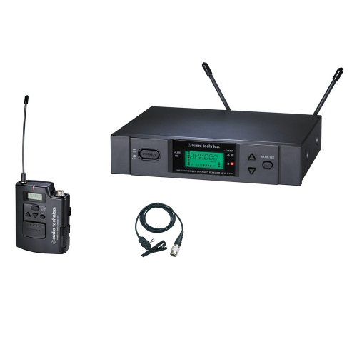 Audio-Technica ATW-3131b 3000 Series Lavaliere Wireless System Channel C