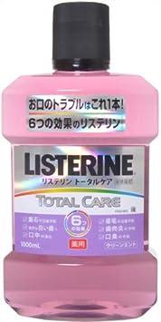 薬用 LISTERINE リステリン トータルケア 1000mL [医薬部外品]: ヘルス&ビューティー