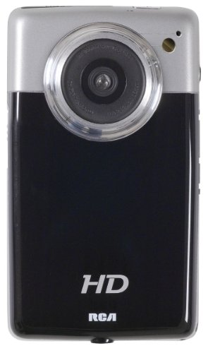RCA EZ3100 High Definition Digital Camcorder with 4x Optical Zoom 4-Inch LCD Screen (Black)