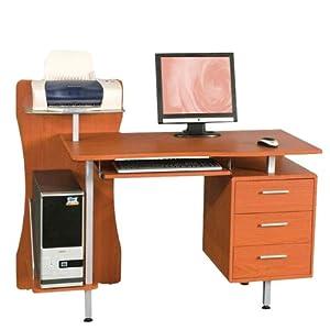 Ufficio scrivania porta pc mod printer ciliegio in mdf e acciaio cassettiera casa e - Cassettiera ufficio mondo convenienza ...