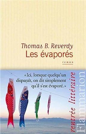 LES EVAPORES de Thomas B. Reverdy 41tZInmmjDL._SY445_
