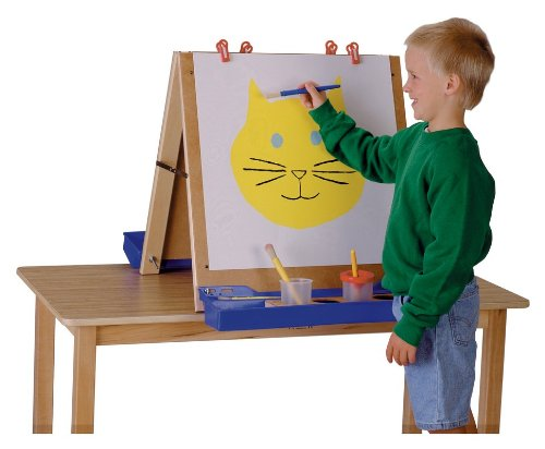 Jonti-Craft TABLETOP EASEL MINIMAL ASSEMBLY REQUIRED