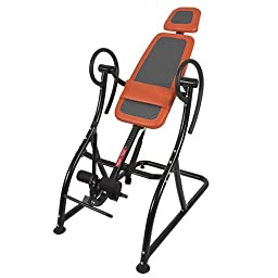 Deluxe Inversion Table Pro Fitness Chiropractic Table Exercise Back Reflexology