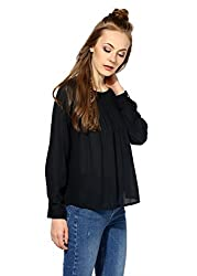 Raindrops Women's Top(1146C003B-Black-S)