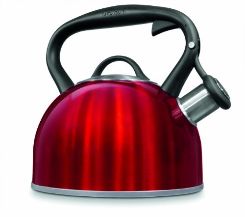 Cuisinart Ctk-Strmr Valor Tea Kettle, Metallic Red