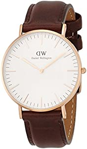 Daniel Wellington Damen-Armbanduhr Bristol Analog Quarz Leder 0511DW